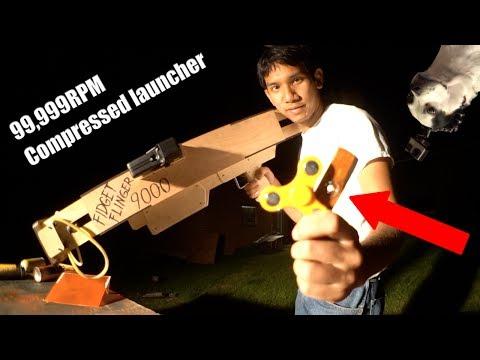 Bazooka wystrzeliwująca Fidget Spinnery