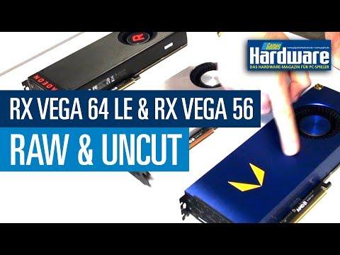 PCGH Raw & Uncut - Radeon RX Vega 64 Limited Edition & Radeon RX Vega 56