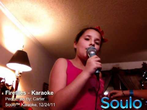 Fireflies (Karaoke)
