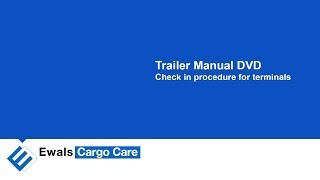 ECC Trailer Manual 2.1 Check in procedure for terminals