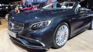 Mercedes-Benz S65 AMG Cabriolet 2017 Videos