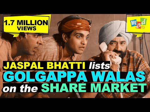 Jaspal Bhatti forms company & floats shares of GOLGAPPA WALAS | Full Tension