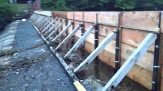Dam rebuild