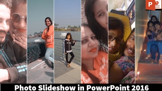 Comment Faire Une Belle Photo De Diaporama-PowerPoint 2016 Tutoriel | L'Enseignant