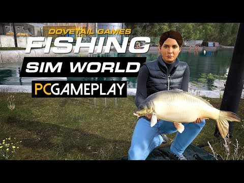 Fishing Sim World Gameplay (PC HD)