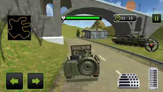US Army Truck Driving 2018 Real Military Truck 3D Android Gameplay