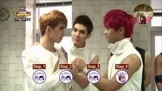 130612 idols dancing class rainbow exo mblaq vixx by 바닐라