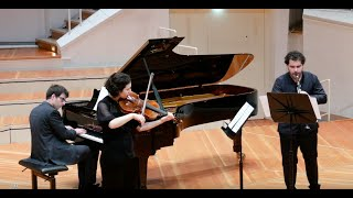 Nimrod Ensemble: Brahms I Gestillte Sehnsucht, Op. 91 for Viola, Clarinet and Piano at the Berlin Phil.