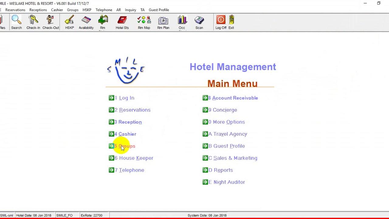 Phần 4:Tạo mới khách đoàn trên phần mềm SMILE