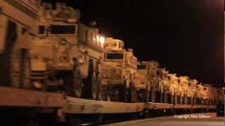 Midnight Military Train - Hanford, CA - 6/27/12