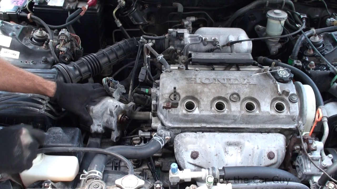 1998 honda civic ex coupe oil capacity