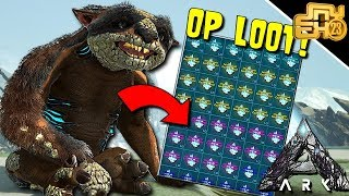 ARK EXTINCTION: OPENING 50 GACHA CRYTALS ON OFFICIAL! (CRAZY LOOT)
