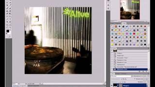 Создание анимации из видео в Adobe Photoshop CS5