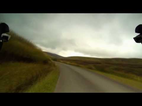 Bwlch y Groes to Lake Vyrnwy descent