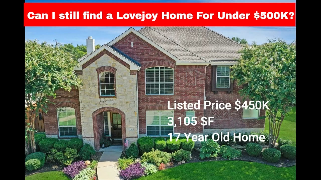 Can you Still Find a $500K Home in Lovejoy?