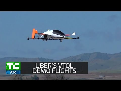 Uber targets 2020 for on-demand VTOL demo flights in Dallas and Dubai