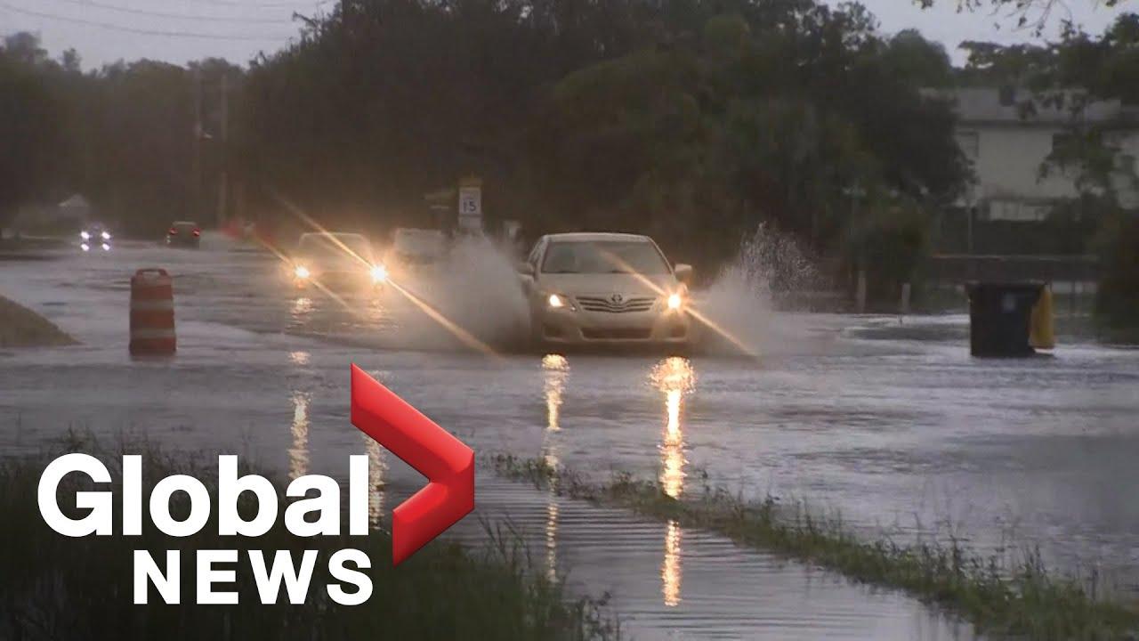 Tropical Storm Eta Causes Flooding in South Florida