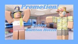 ¡La promoción a la gestión de Roblox Bloxton Hotels ria_ix!