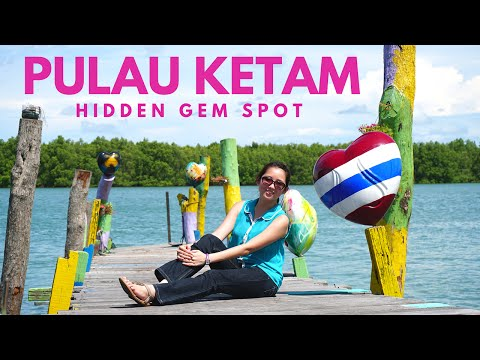 Pulau Ketam l Found the Hidden Gem Spot!! l Day Trip, Malays