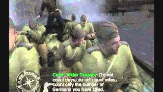Call of Duty: Finest Hour (PS2) Scene 01- Not One Step Back