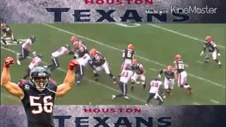 Texans Brian Cushing Lays Out Brian Hoyer