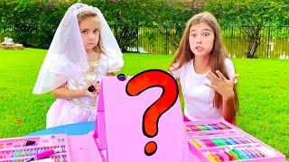 Nastya se veste para uma festa na discoteca e Mia estraga o cabelo e muda o batom
