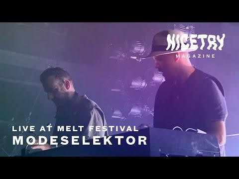 Modeselektor Live @ Melt 2019 | NICETRY