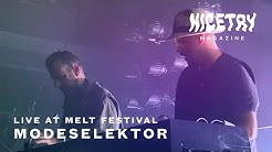 Modeselektor live @ Melt 2019 | NICETRY
