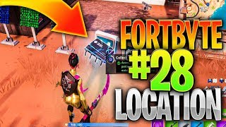 "HOW TO SOLVE THE ""PATTERN MATCH PUZZLE"" OUTSIDE A DESERT JUNKYARD - FORTBYTE #28 Location"