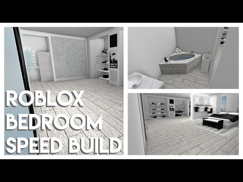 ROBLOX Bedroom Speed Build | XX
