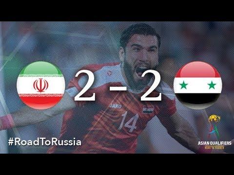 Iran Vs Syria (2018 FIFA World Cup Qualifiers)