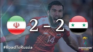 Iran vs Syria (2018 FIFA World Cup Qualifiers)