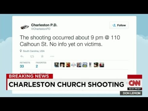 Police: Shooting at a church in Charleston, S.C.