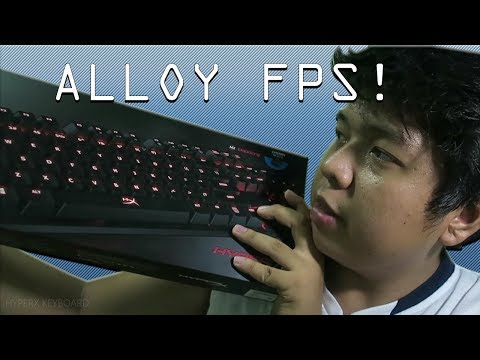 BEST FOR GAMING!? | HYPERX ALLOY FPS KEYBOARD REVIEW