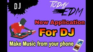 Try a new dj for android buttonbass edm cube2 application review || FREE ||