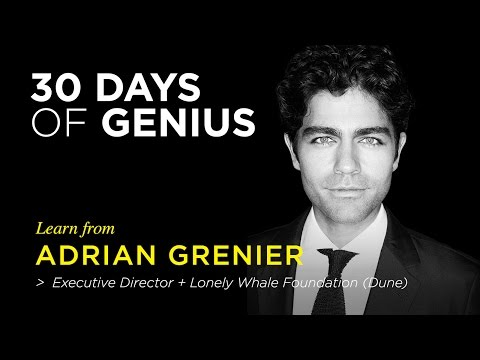 Adrian Grenier on CreativeLive | Chase Jarvis LIVE | ChaseJarvis