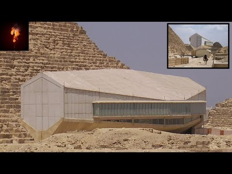 """Flying Ship"" Found Under The Great Pyramid?"