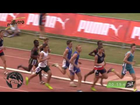 2016 Pretoria A-Bond Interhigh - Boys 14 800m