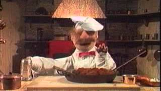 Vintage Sesame Street Swedish Chef Making Meatballs