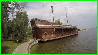 "Exploring Forgotten ""Galleon"" Ship of Ex-President Yanukovych in His Palace 2017. Yanukovych Ship"