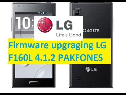 lg f100l firmware 4.1.2