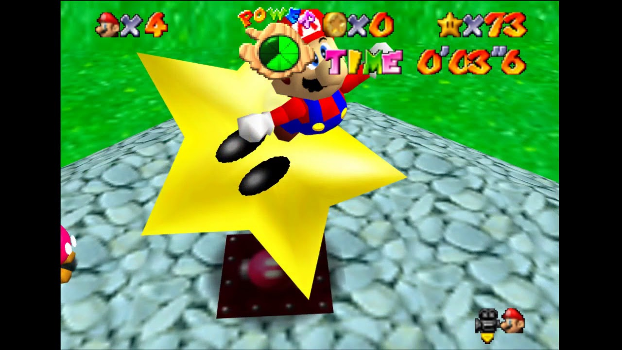 Launch Stars in SM64 (Programming with C)