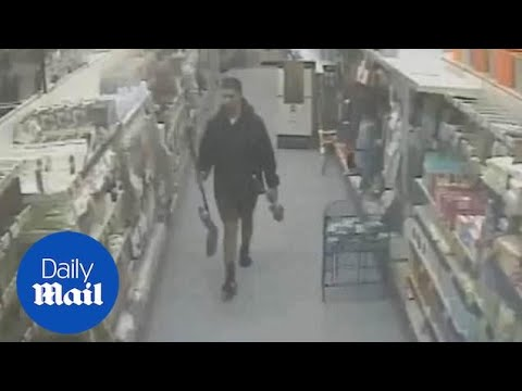 Wales CCTV Shows Man Buying Cleaning Tools After Killing His Friend