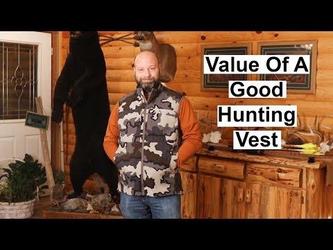 Value Of A Hunting Vest