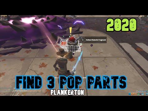 Find 3 Pop Parts - Fortnite Save The World Plankerton Questline