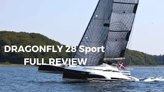 Dragonfly 28 Sport Review by YACHTFILM - English Version