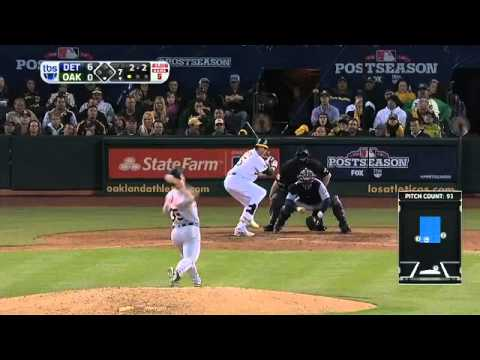 Justin Verlander destroys Oakland Athletics - Game 5 of ALDS