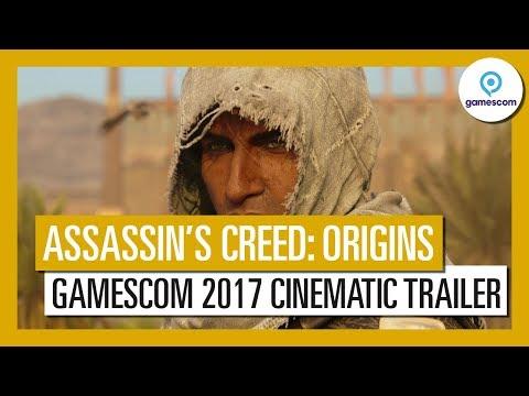 Assassin's Creed Origins: Gamescom 2017 Cinematic Trailer