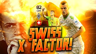 IF GRANIT XHAKA: BEST SWISS WEAPON X FACTOR! FIFA 16 ULTIMATE TEAM