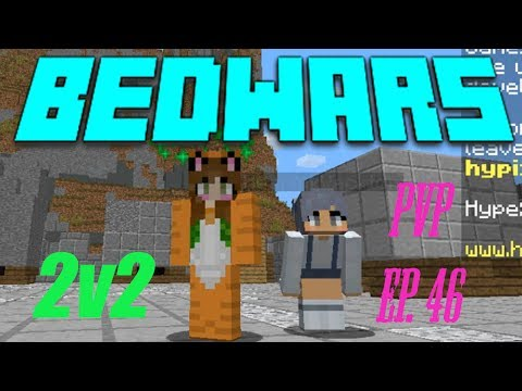 """'PLAYING BUT FAILING!!!""""~ BedWars With The NEEEN Queen Thea~ Minecraft PVP Ep. 46"""